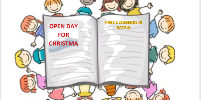 OPEN DAY FOR CHRISTMAS 2018