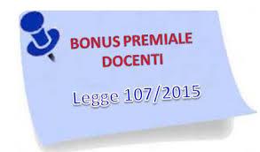 Attribuzione del bonus per la valorizzazione del merito docente