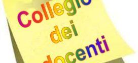 Convocazione Collegio Docenti  2 Settembre 2019 ore 10:00