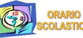 ORARIO SCOLASTICO 2019-2020