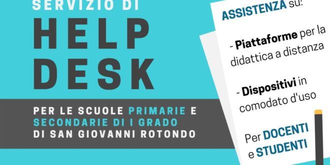Help desk didattica a distanza