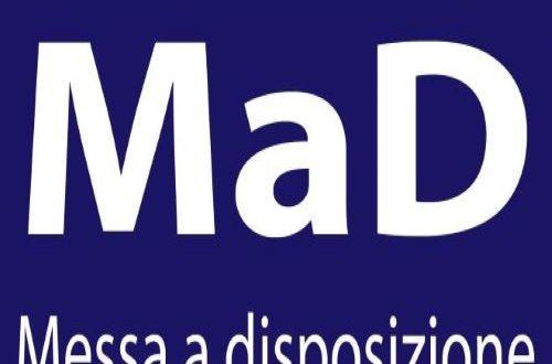 MODALITA' E TERMINI DI PRESENTAZIONE DELLE DOMANDE DI MESSA A DISPOSIZIONE (MAD) FUORI GRADUATORIA