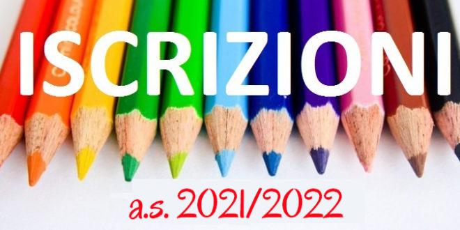 Iscrizioni A.S. 2021/22